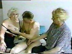 Duitse Oma Rijpe Oma Sex