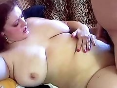Chunky Redhead With Giant Hangers Kristina Drilled