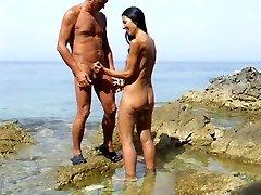 تابستان سرگرم کننده دختر , ساحل