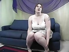 Rowan  BBW Gets Spanked And Romped