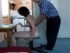 personal spanking lesson