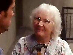 Yes man senior lady scene