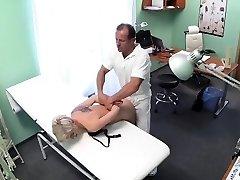 Horny medic stalks his prey