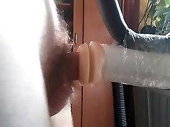 Dude fucks rubber vagina