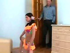 Flexibele kamasutra meisje geneukt