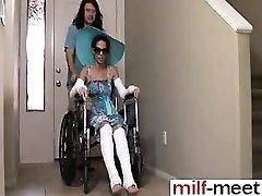 Caliente No Hijo Folla Madre No en Wheelc - Ella está en MILF-ME