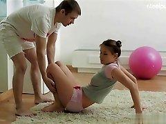 Nude girl balllicking