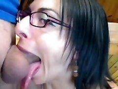 Sexy French No-Gag deepthroat