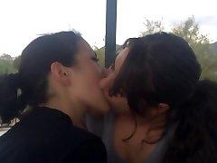 Lesbian kiss - 4