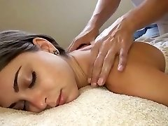 White girl getting the best massage ever! Riley Reid