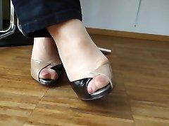 Feet in Nylon - Video 24