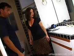 Plumber visits mother