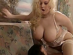 British BBW Kirsten Halborg anal fucked face spunked