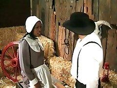 Amish farmer annalizes a black maid