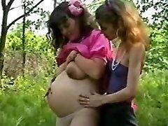 Pretty, lesbian...and pregnant