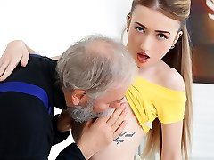 Empera in Old Man Pummels A Fresh Babe - Old-n-Youthful