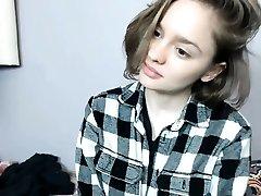 amateur europeo de la adolescente lola taylor jodido en el coche