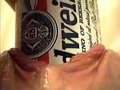 Extreme Object Insertion Using a Budweiser Beer Can