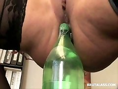 Ava Devine bottles and fuck sticks extreme injection