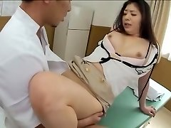Spectacular Jap gets poked in kinky spy cam massage clip
