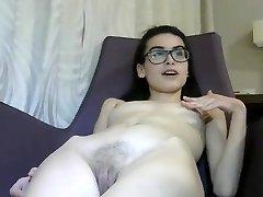 Piccolo 18 yr italiana Cam Ragazza si Masturba-1