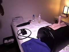 Cum Clinic - Tugging a Stud with a Sybian