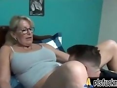 Mom drills son
