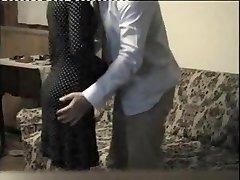 Friends mamma on hidden web camera