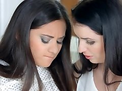 First time by Sapphic Erotica - lesbian enjoy pornography with