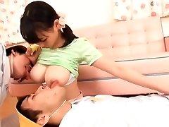 Exotic Japanese breezy Akane Yoshinaga in Hottest Softcore JAV movie
