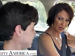 Insane America Vanessa Videl instructs Juan how to take care of a nymph