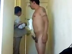 Sucky-sucky by the Hotel Maid