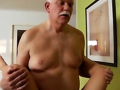 My Uber-sexy Step Sister Drilled Old Grandpa