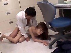 Hottest Japanese dame Aino Kishi in Hottest Blowjob, Teens JAV scene
