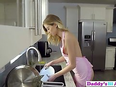 Seductive Haley Reed Attempts Anal Fuck-a-thon With Stepdad In Kitchen!