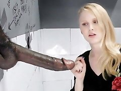 Lily Rader Deep Throats And Penetrates Big Black Dick - Gloryhole
