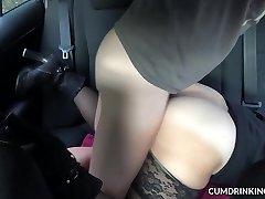 Slutwife screwed by strangers in her truck