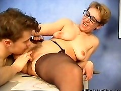 mature russian lecturer fucked