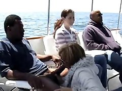good interracial on a boat