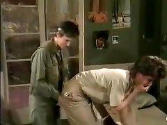Jamie Summers, Kim Angeli, Tom Byron In Old-school Sex Episode