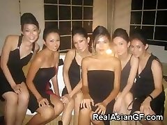 Super Hot Asian Teen Girlfriends!