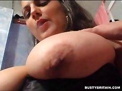 Huge smoking tits
