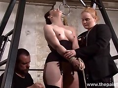 Slave Caroline Pierce cropping and strict double domination