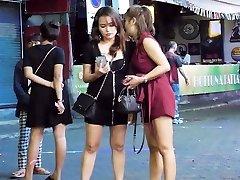 Pattaya Walking Street Nightlife and she-creature,Thailand 2020