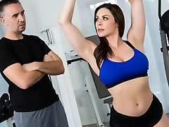 Kendra Lust & Keiran Lee in Personal Trainers: Sesh 1 - Brazzers