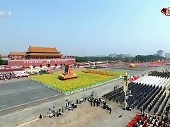 中国成立70周年国庆节阅兵China's 70th anniversary National Day parade