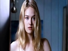 Jess Weixler naked lying on her back as a boy squashes and