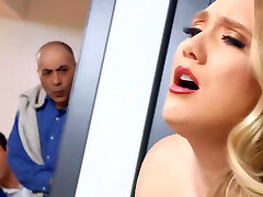 AJ Applegate gives her pink hole for Valentine's day