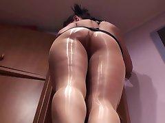 alss shiny pantyhose 1