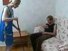 Skinny Mother Up For A Young Cock